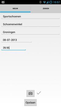 Byte-Sized Receipts apk screenshot