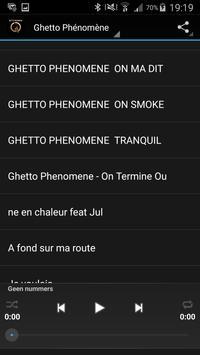 Ecoutez Ghetto Phénomène screenshot 1