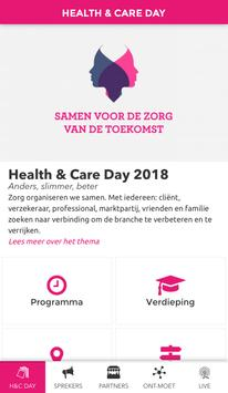 Health & Care Day poster