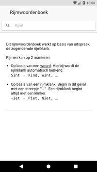 Rijmwoordenboek poster