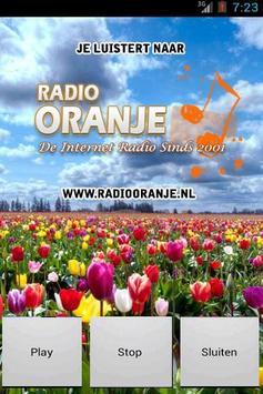 Radio Oranje poster