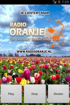 Radio Oranje screenshot 1