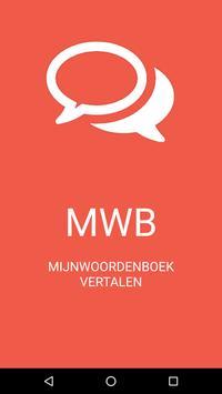 Mijnwoordenboek poster