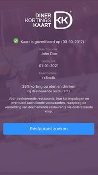 Diner Kortingskaart screenshot 2