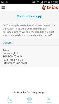 Trias Maatwerkmodule apk screenshot