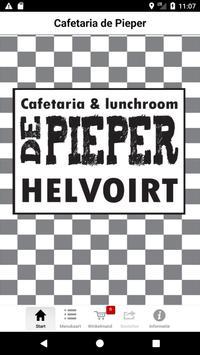 Cafetaria de Pieper BestelApp poster