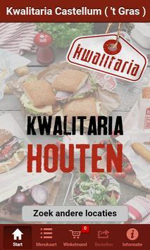 Kwalitaria Houten poster