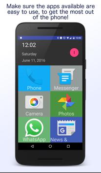 Senior Homescreen apk screenshot