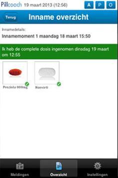 Pillcoach NL screenshot 2