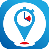 Location Time Tracking icon