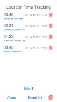 Location Time Tracking screenshot 3