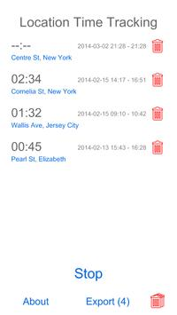 Location Time Tracking screenshot 2