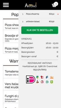Restaurant Antonio poster