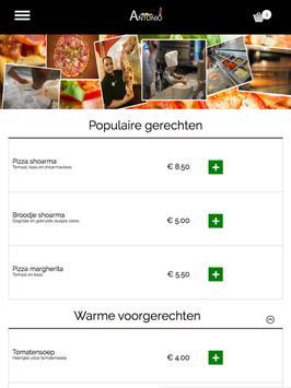 Restaurant Antonio apk screenshot