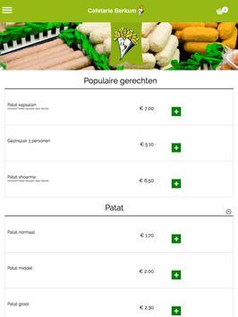 Cafetaria Berkum Zwolle apk screenshot
