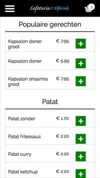 Cafetaria 't Elferink apk screenshot