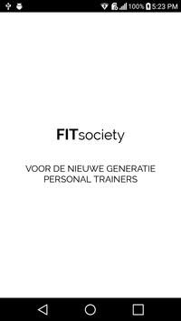 Coaching by FITsociety - voor Personal Trainers poster