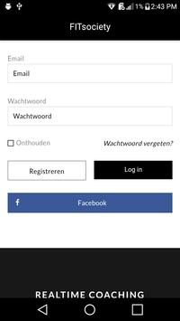 Coaching by FITsociety - voor Personal Trainers apk screenshot
