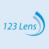 123 Lens icon