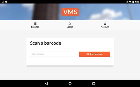 VMS Scanner screenshot 2