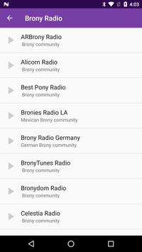 Brony Radio poster