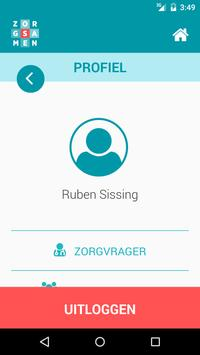 ZorgSamen apk screenshot