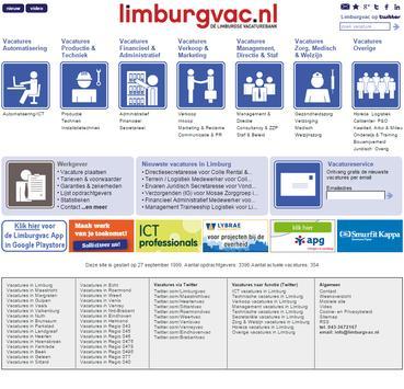 Limburgvac (full site) screenshot 1