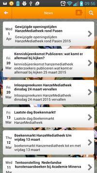 Hanze Library apk screenshot