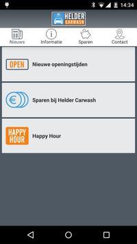 Helder Carwash poster