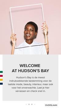 Hudson's Bay Nederland poster