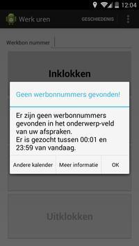 Werkuren apk screenshot