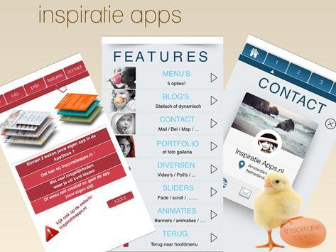 Inspiratie Apps apk screenshot
