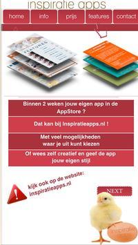 Inspiratie Apps poster