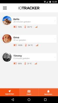 ioTracker screenshot 1