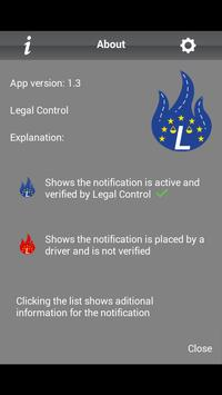 Legal Control apk screenshot