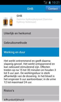 van alcohol tot xtc screenshot 1