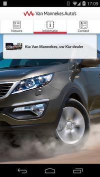 Van Mannekes Auto's poster