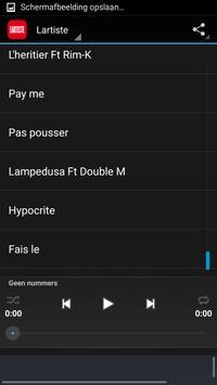 Ecoutez Lartiste apk screenshot