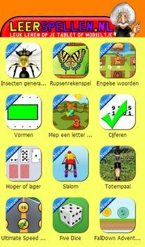 Leerspellen apk screenshot