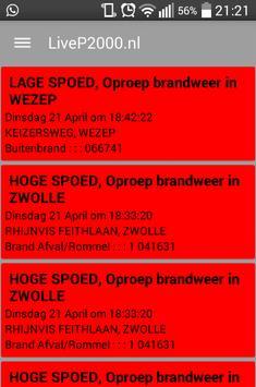 LiveP2000.nl screenshot 5