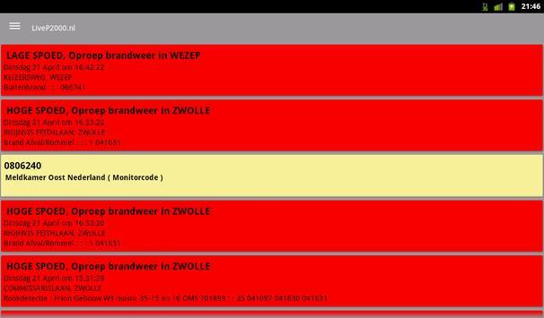 LiveP2000.nl screenshot 13