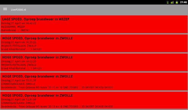 LiveP2000.nl screenshot 12