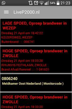 LiveP2000.nl screenshot 1