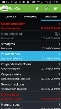 PlantObs apk screenshot