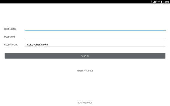 MOO cloudopslag screenshot 2