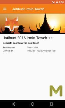 Jotihunt 2016 Irmin-Taweb apk screenshot