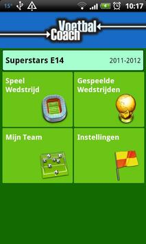 Voetbal Coach poster