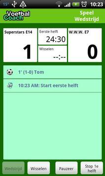 Voetbal Coach screenshot 1