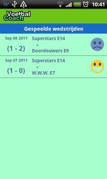 Voetbal Coach screenshot 4