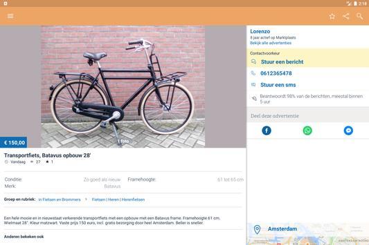 Marktplaats apk screenshot